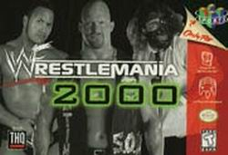 WWF WrestleMania 2000 (USA) Box Scan